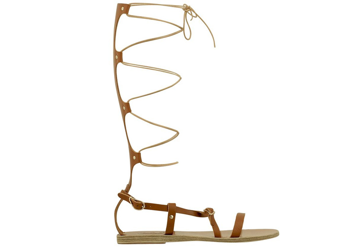 By Buy Sofia Cognac Sandals Ancient High Greek pqMSUzVG