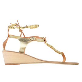 Chrysso Wedge - Cracked Gold