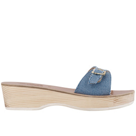 Filia Sabot - Light Denim