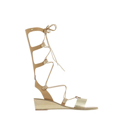 Thebes Wedge - Natural/Platinum