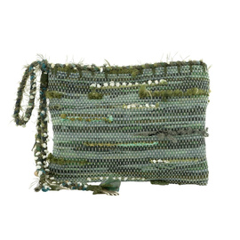 Clotho Clutch - Green
