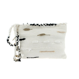 Clotho Clutch - White