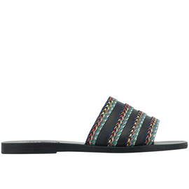 Taygete Raffia - Black/Dark Multi Str