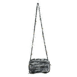 LACHESIS CROSS BODY - BLACK/WHITE