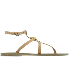Ancient Greek Sandals with LALAoUNIS Alia - Natural