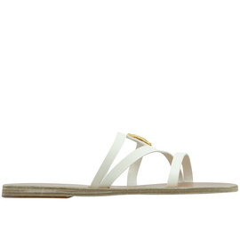 Ancient Greek Sandals with LALAoUNIS Thoi - Off White