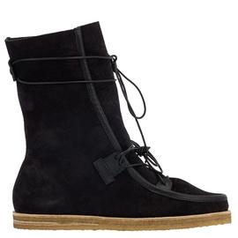 Dimitra Boots - Crosta Black