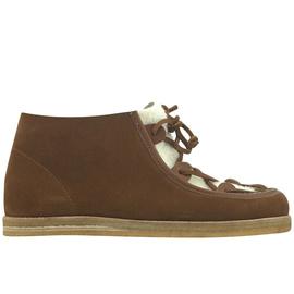 Hera Boots - CROSTA TOB/WHT SHEEP