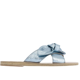 Thais Bow - Canvas Lame Celeste
