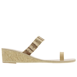 Thalia Wedge - Zebra Cork