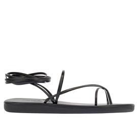 String Flip Flop - Black