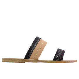 Zeus + Δione<br>TSAROUCHI SLIDE - NATURAL/BLACK