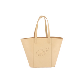 AGS WING TOTE LARGE - NATURAL