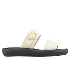 PREVEZA COMFORT - OFF WHITE/BLACK SOLE