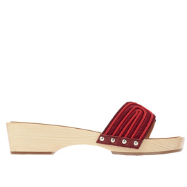 Zeus + Δione<br>THE HARNESS CLOG - BORDEAUX/RED