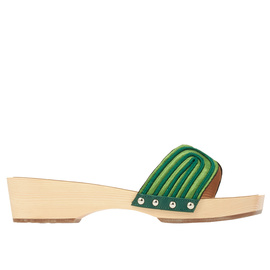 Zeus + Δione<br>THE HARNESS CLOG - GREEN/OLIVE