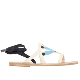 LILLY - OFF WHITE/BLUE